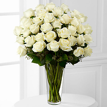 The White Rose Bouquet - 36 Stems